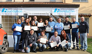 With this project ST Foundation Italian volunteers have once again confirmed their attention on projects that can produce high impact like the one mentioned above together with different interventions in prisons and other immigrants' associations of the country.