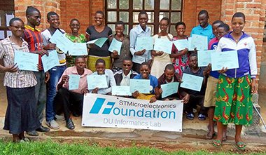 Moreover, through the infrastructures the ST Foundation created new services that were brought to the country and the internet was made available to the students and to the partnering schools.