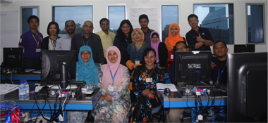 Over 100 people have been trained since the inception of the project.